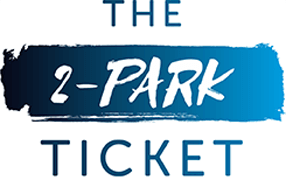 The 2-Park SeaWorld & Aquatica Ticket logo.