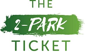The 2-Park SeaWorld & Busch Gardens Ticket logo.