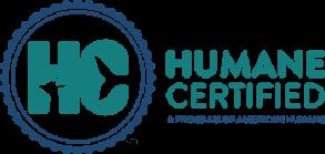 Humane Certified logo.