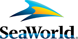 SeaWorld logo.
