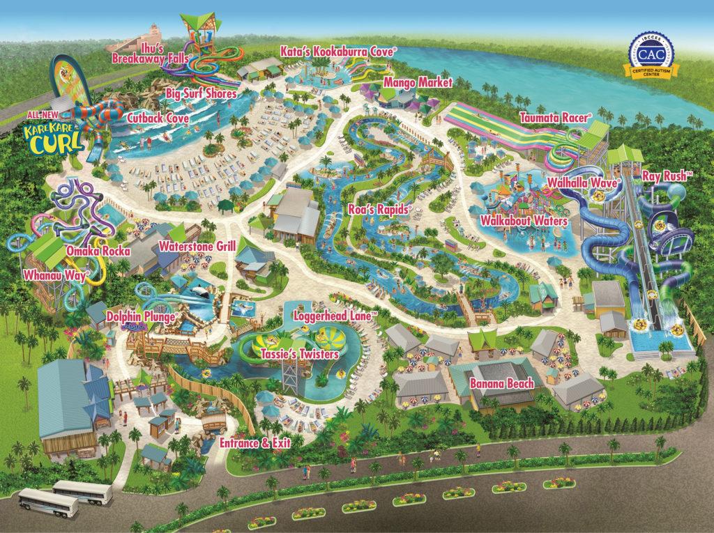 Aquatica park map.